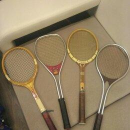 Ракетки - 2 металлические ракетки для большого тенниса б.у, 0