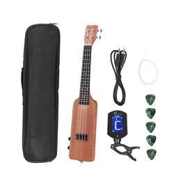 Электрогитары и бас-гитары - Электрическая концертная укулеле AMMOON , 0