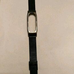 Ремешки для часов - Стальной ремешок для Mi Band 2, 0