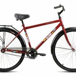 """Велосипеды - Городской велосипед ALTAIR City high 28 бордовый 19"""" рама, 0"""