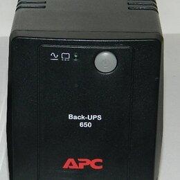 Источники бесперебойного питания, сетевые фильтры - ИБП APC 650 BX650LI, 0