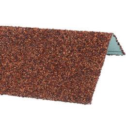 Окна - Наличник оконный металлический HAUBERK Терракотовый 50*100*1250мм, 0