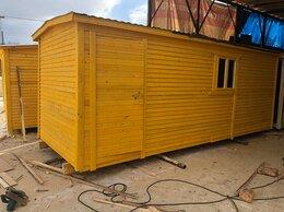 Готовые строения - Хозблок деревянный новый 6х2.30 А-155, 0