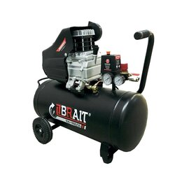 Воздушные компрессоры - Компрессор воздушный масляный Brait КМ-1800/50, 0