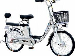 Мототехника и электровелосипеды - Электровелосипед GreenCamel Транк-20, 0