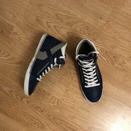 Кроссовки и кеды - Pull & Bear синие высокие кеды / кроссовки 43 размер, 0