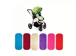 Аксессуары для колясок и автокресел - Новый матрасик-вкладыш для коляски (красный), 0