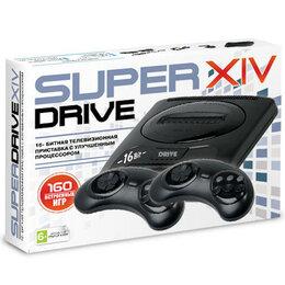 ТВ-приставки и медиаплееры - Приставка Super Drive 14 (160-in-1) Black, 0