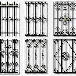 Окна - решетки металлические, 0