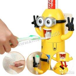 Косметика и гигиена - Дозатор зубной пасты с держателем, 0