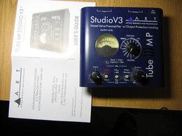 Оборудование для звукозаписывающих студий - ЛАМПОВЫЙ ПРЕДУСИЛИТЕЛЬ ART TUBE MP STUDIO V3, 0