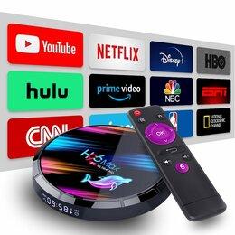 ТВ-приставки и медиаплееры - Смарт тв-приставка H96 Max X3 S905X3 4/32Гб, 0