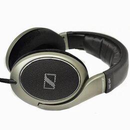 Наушники и Bluetooth-гарнитуры - Наушники проводные профессиональные студийные SENNHEISER HD595, 0