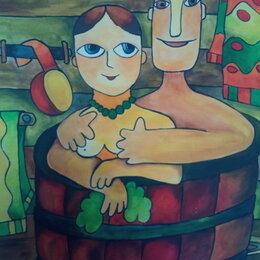 Картины, постеры, гобелены, панно - Картины в интерьер,. для детских комнат, в подарок. Акрил, холст,, 0