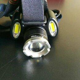 Фонари - Налобный фонарь аккумуляторный YT-1600, 0