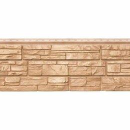 Фасадные панели - Панель Grand Line Я-фасад Крымский сланец янтарная, шт, 0