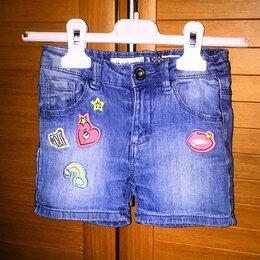 Шорты - Шортики  джинсовые для девочки на 2-4 года, 0