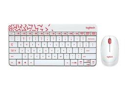 Комплекты клавиатур и мышей - Комплект клавиатура мышь беспроводной Logitech Wir, 0