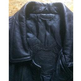 Куртки - Мужская зимняя куртка (кожа, большой размер), 0