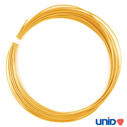 Жёсткие диски и SSD - Пластик UNID PRO 10м, золотой металлик, 0