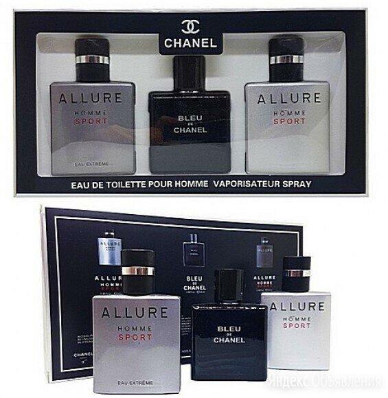 Новый Мужской набор духов Chanel - 3*25 мл по цене 1500₽ - Парфюмерия, фото 0