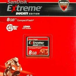 Карты памяти - Sandisk Compact Flash Ducati Edition 4Gb и 8 Gb, 0
