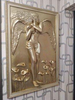 Картины, постеры, гобелены, панно - Продаю барельеф - картину Ангел, 0
