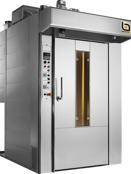 Жарочные и пекарские шкафы - Печь ротационная Bassanina Rotor 68 платформа, 0