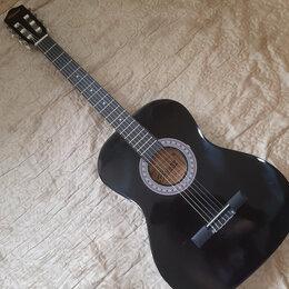"""Акустические и классические гитары - Belucci гитара классическая чёрная 38"""", 0"""