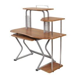 Компьютерные и письменные столы - Стол компьютерный Бюрократ DL-082LCD, 0