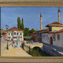 """Картины, постеры, гобелены, панно - Картина """"Ханский дворец. Бахчисарай""""., 0"""