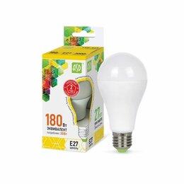 Лампочки - Светодиодные лампы ASD Лампа светодиодная ЛОН LED-A60-std A60 20Вт 3000К 1800..., 0