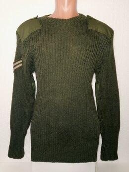 Военные вещи - Свитер армейский Великобритания. Оригинал. 52-54., 0