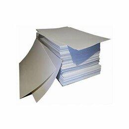 Упаковочные материалы - Картон все виды, 0