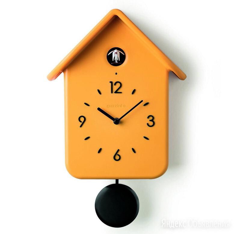 Часы с кукушкой qq жёлтые по цене 11350₽ - Часы настенные, фото 0