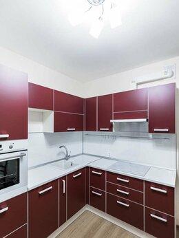 Мебель для кухни - Большая угловая бордовая кухня ЛДСП Egger Реймс, 0