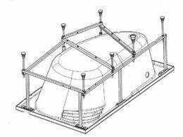 Держатели и крючки - Монтажный набор Roca ZRU9302999 для ванны WELNA…, 0