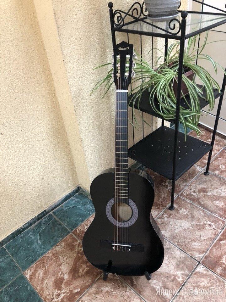 Классическая гитара Belucci BC-3805 BK по цене 3300₽ - Акустические и классические гитары, фото 0