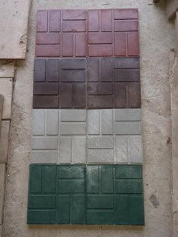 Садовые дорожки и покрытия - Плитка полимерпесчаная 250х250х20, 0
