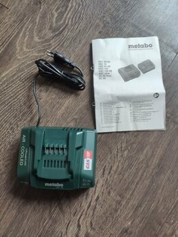 Аккумуляторы и зарядные устройства - Зарядное устройство Metabo ASC 145 , 0