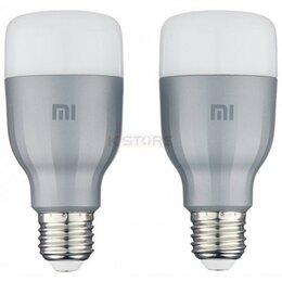 Лампочки - Комплект ламп Xiaomi Mi LED Smart Bulb белая и цветная (MJDP02YL), 0