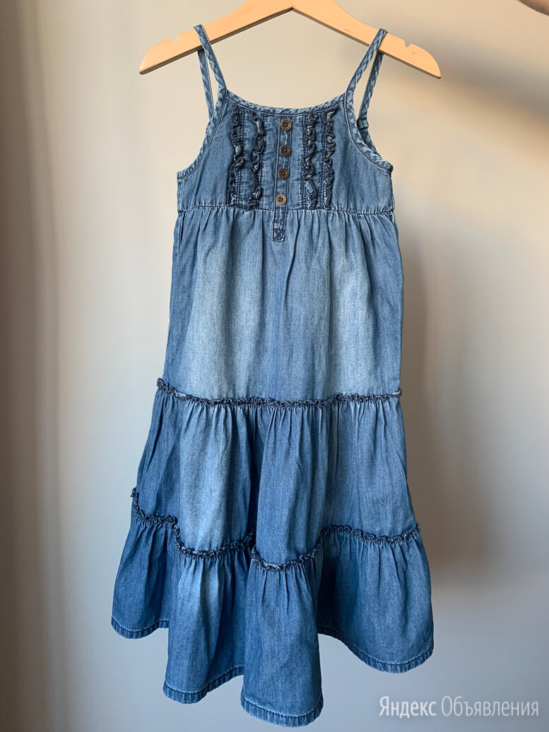 Сарафан для девочки NEXT 3 года 98 см по цене 250₽ - Платья и сарафаны, фото 0