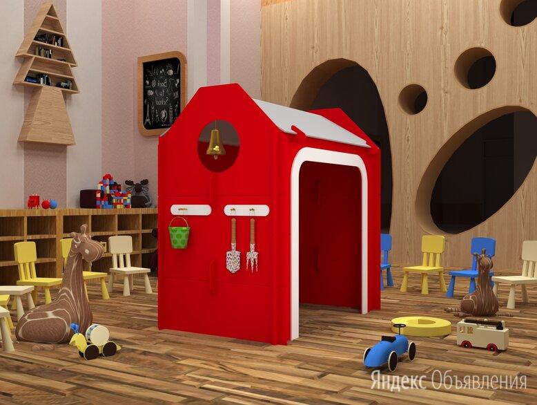 """Детский домик """"Пожарное депо"""" по цене 47400₽ - Развивающие игрушки, фото 0"""