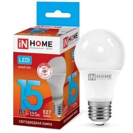 Лампочки - Светодиодная лампа А60 15вт е27 нейтральный белый, 0