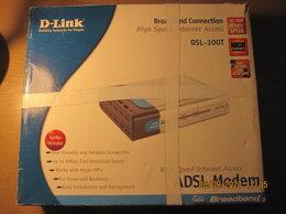3G,4G, LTE и ADSL модемы - Модем ADSL DSL-300T, 0