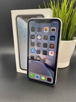 Мобильные телефоны - iPhone XR 256GB White Витринный, 0
