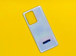 Корпусные детали - Задняя крышка Samsung S20 Ultra (белая), 0