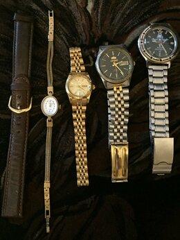Наручные часы - Часы женские и мужские, ремешок, 0