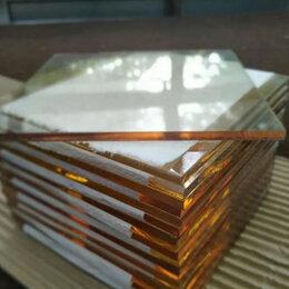 Наборы и аксессуары для каминов и печей - Прозрачное жаропрочное огнестойкое стекло Robax для камина, 0