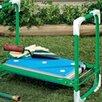 Скамейка перевёртыш садовая Nika до 100 кг складная для прополки по цене 1590₽ - Скамейки, фото 0